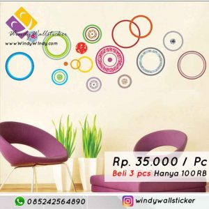 wall sticker lingkaran makassar