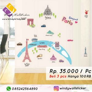 wall sticker paris makassar